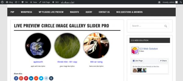 Team-slider-Pro Version Slider With Description