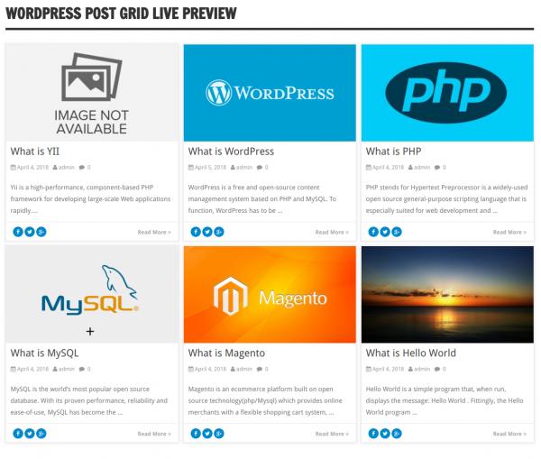WordPress-Post-Sliders-and-grid-WordPress Post Grid View