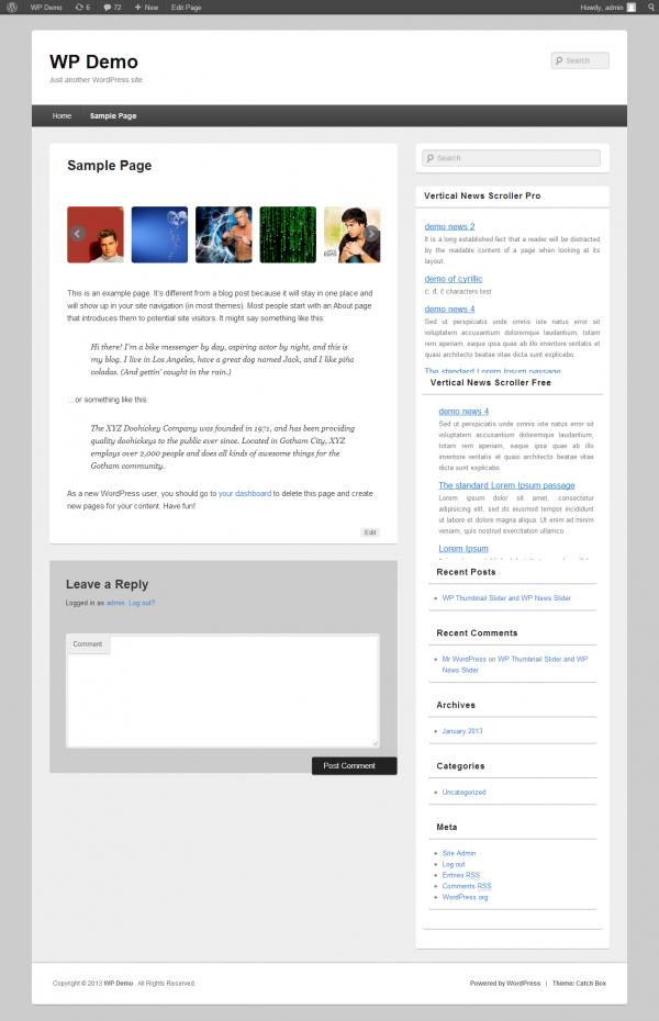 wordpress-Resonsive-thumbnail-slider